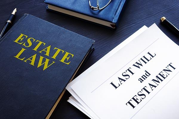 Estate law, last will and testament.